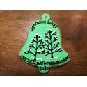 Dzwonek z piernika zielony