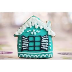 Pierniczki świąteczne domek z piernika