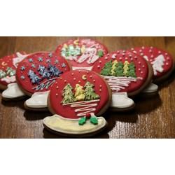 Pierniki świąteczne - kula...