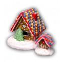Domek z piernika kolorowy duży 620g nr 472