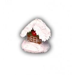 Domek z piernika mały biały 100g nr 473