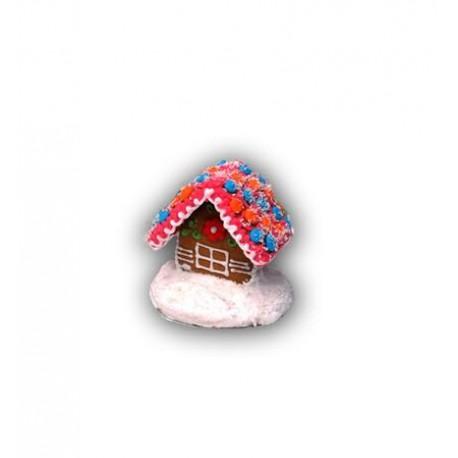 Domek z piernika kolorowy mały 100g nr 470