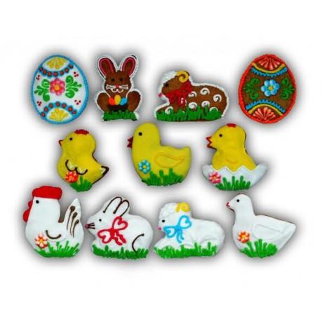 Pierniki świąteczne - Wielkanoc
