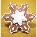Pierniki świąteczne - śnieżynka
