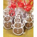 Pierniki świąteczne - bałwanek
