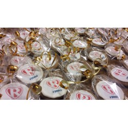 Pierniki świąteczne - okrągłe