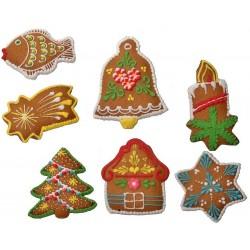 Pierniczki świąteczne w zestawie