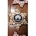 Gwiazdka z pierniki z logo