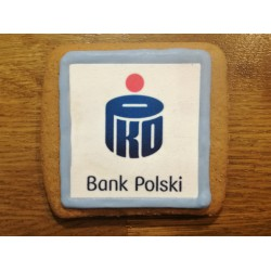 Pierniki z logo - bank polski