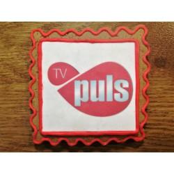Pierniki z logo - tv puls