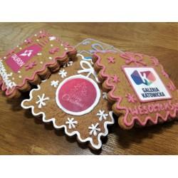 Pierniki na zamówienie - ciastka reklamowe w prezencie