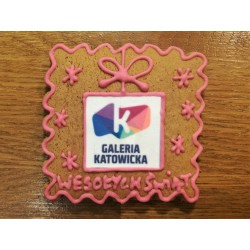 Pierniki na zamówienie - ciastka reklamowe